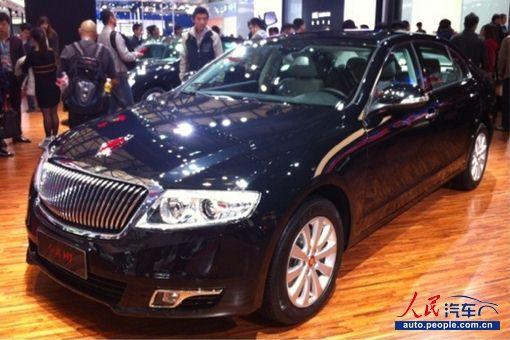 中国一汽 红旗轿车系列发动机 上海发布高清图片