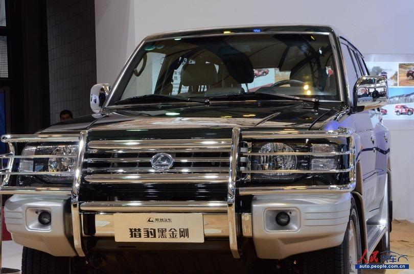 2013上海车展实拍 猎豹黑金刚Q6高清图片