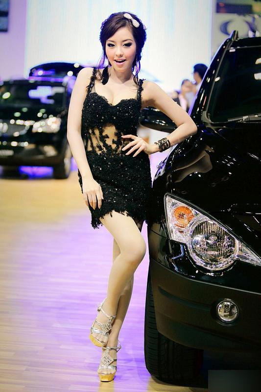 泰国车展上美女傻傻分不清楚 展会信息