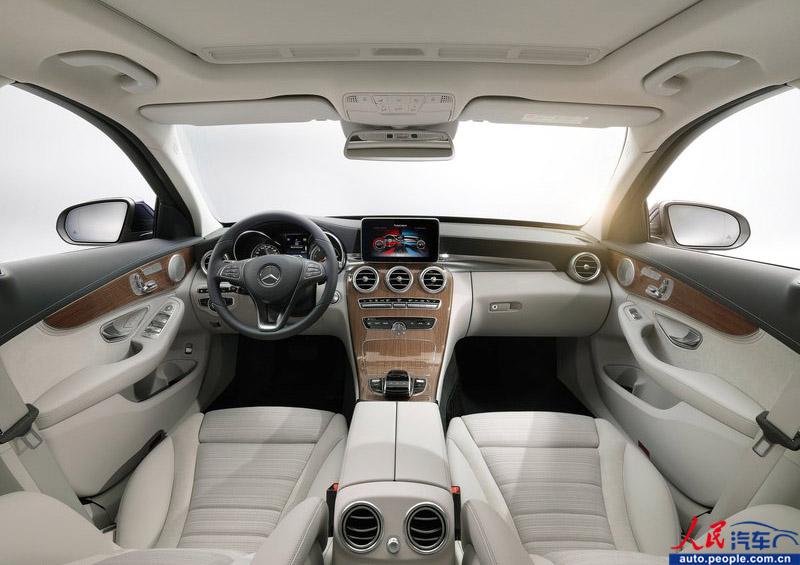 新一代奔驰C级轿车官方图片曝光 颇似新S级