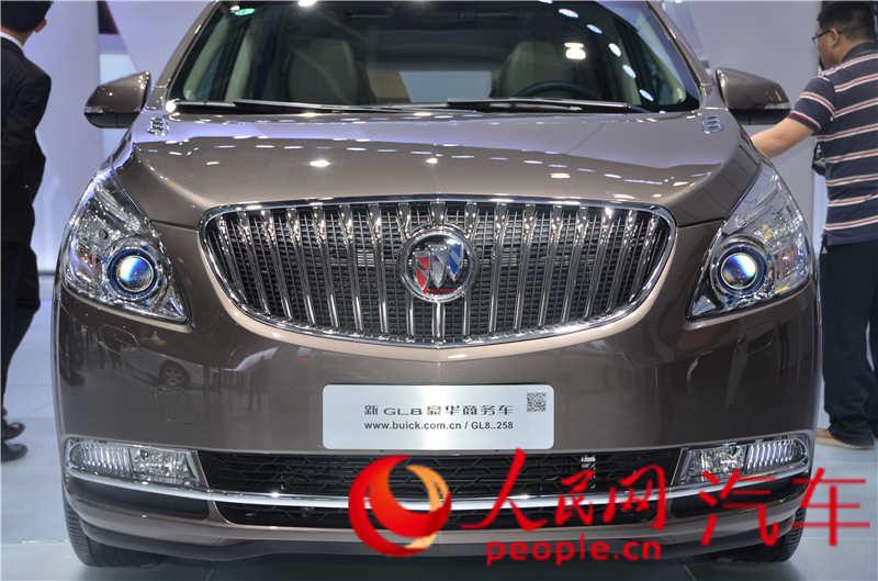 别克g18 人民网直击2014北京国际车展【3】