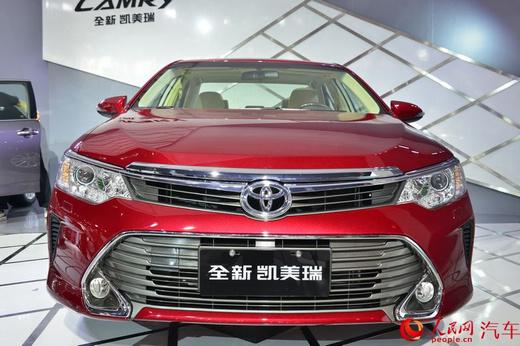 全新凯美瑞全新皇冠领衔 丰田携33辆车型亮相2014年广州车高清图片