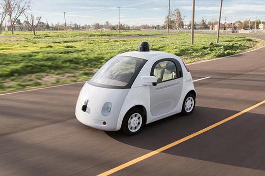谷歌无人驾驶追尾首次遭遇致人受伤车祸高清图片