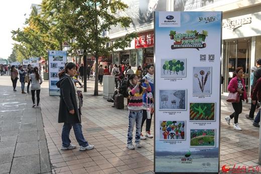"""斯巴鲁绿色生态文化展 第三季""""31座森林星之旅""""收官"""