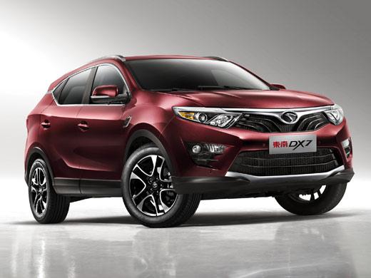 东南汽车DX7-新车战略曝光 东南汽车将推10款新车型