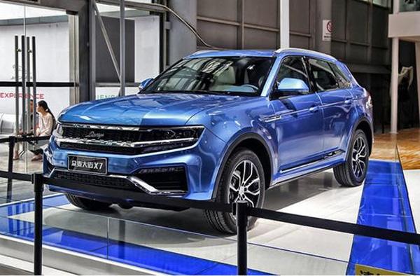 今年年底前,众泰汽车将推出大迈x7,大迈x5超值版,sr9等新品,力争早日