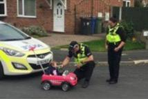 """开玩具车被""""酒测"""""""