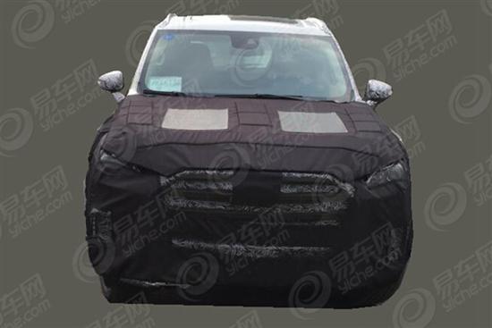 曝大通D90量产谍照 定位7座SUV 17年上市高清图片
