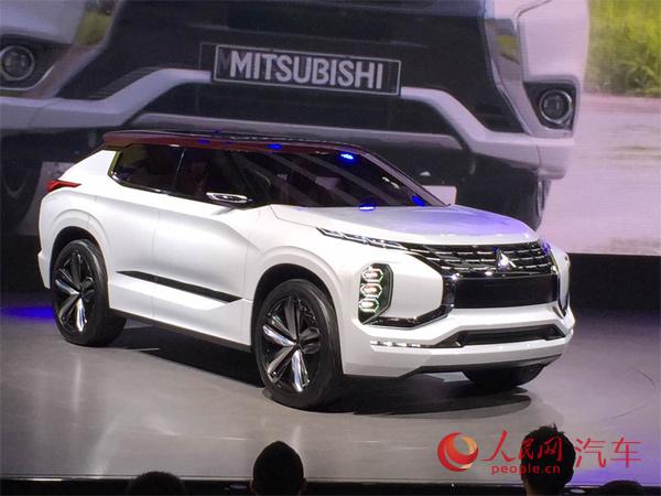 三菱汽车亮相上海车展 两款SUV概念车首秀高清图片
