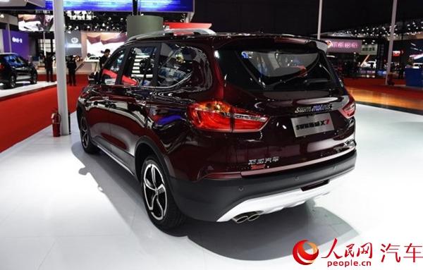 携手国际米兰球星科尔多巴swm斯威汽车发布三款新车