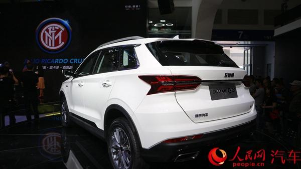 斯威g01亮相重庆车展 将于8月上市--人民网汽车--人民
