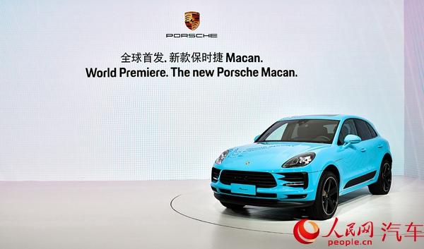 新款保时捷Macan全球首发售55.8万元起
