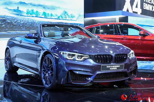 宝马m3/m4车迷限量版上市 售108.89万-119.89万元