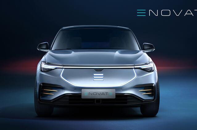 电咖ENOVATE首款车型官图发布明年上海车展上市