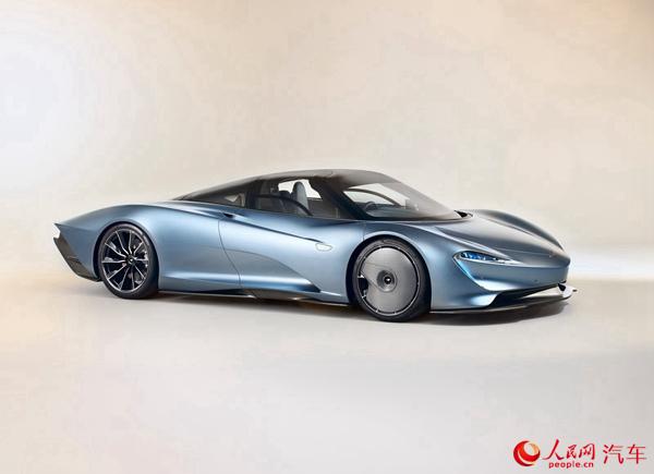 迈凯伦发布全新终极跑车Speedtail 极速403Km/h
