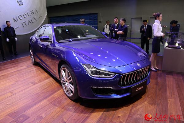 2018广州车展 玛莎拉蒂Levante GTS中国首发上市