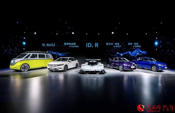 大众纯电动车型亮相  明年将国产30万辆新能源汽车