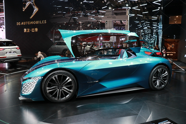 DS四款新能源车型上海车展首秀