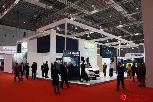 2019上海车展法雷奥发布电气化与互联驾驶技术