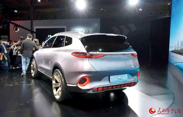 腾势概念车ConceptX亮相将发力中国新能源汽车市场