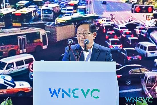 全国政协副主席、中国科学技术协会主席,本届大会主席 万钢