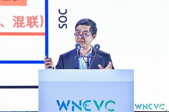 世界新能源汽车大会科技委员会联合主席、清华大学教授、中国科学院院士 欧阳明高