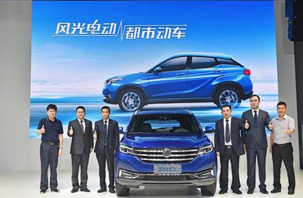 东风风光SUV全产品阵容亮相成都车展