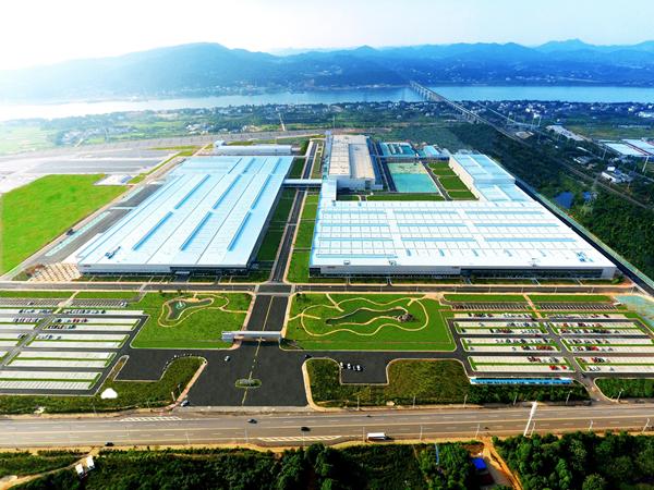 北京汽车株洲基地助力新BEIJING品牌腾飞
