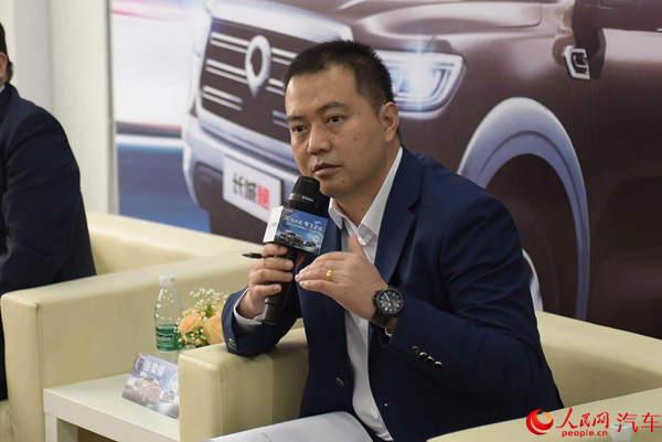 张佳明:促进全球化进程升级2020年销量目标为20万台