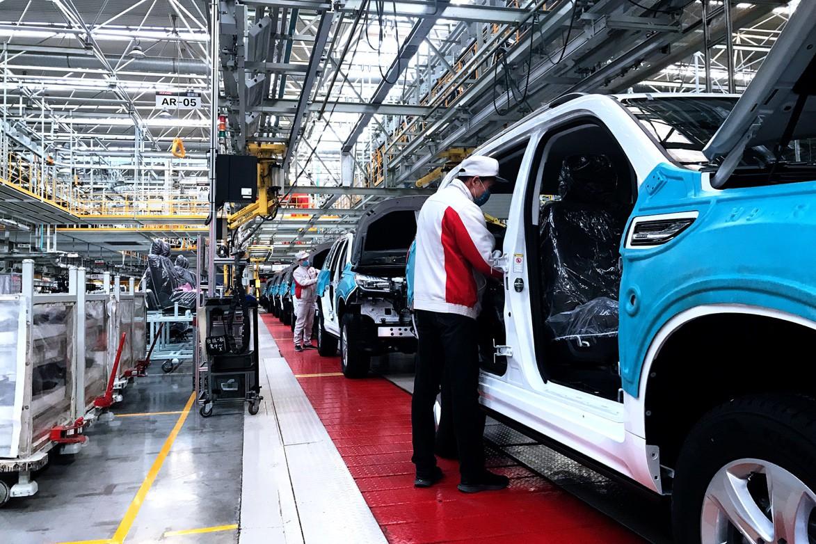 长城汽车全国生产基地陆续复工预计3月初恢复正常水平