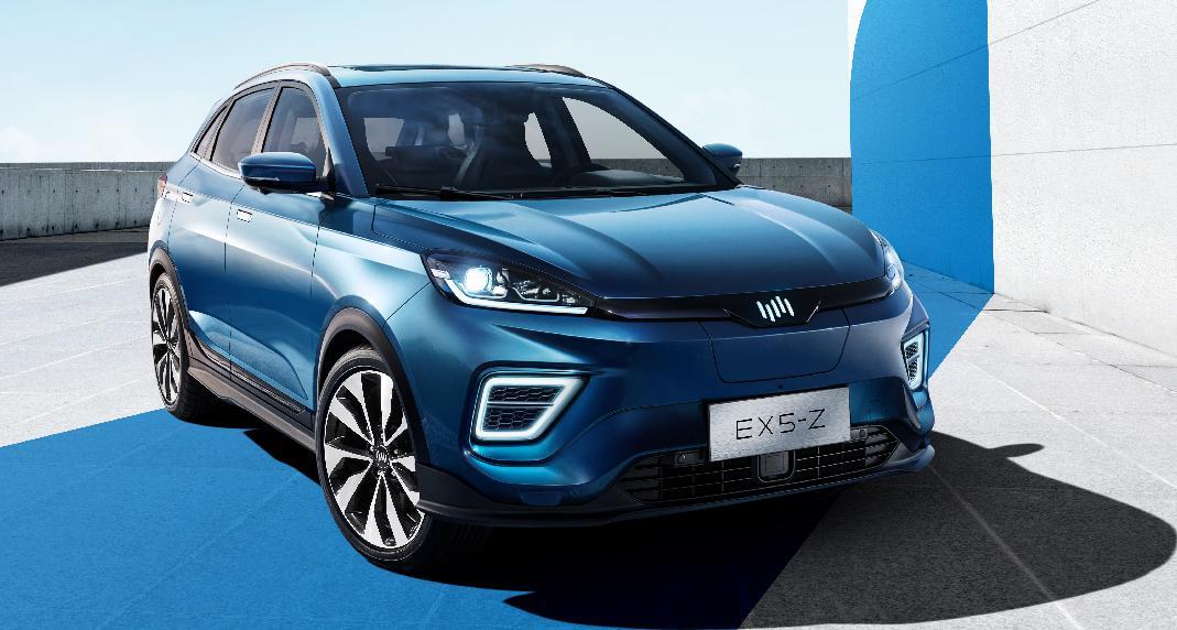 毛豆新车开拓新能源车市场威马EX5-Z开售