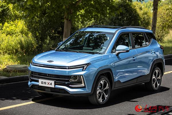布局小型SUV细分领域江淮嘉悦X4正式上市
