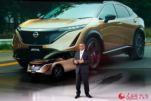 日产发布全新纯电动车型Ariya计划2021年登陆中国市场