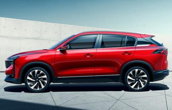 紧凑级SUV观致7亮相将于今年9月正式上市
