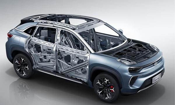 奇瑞新能源全新纯电动SUV蚂蚁上市