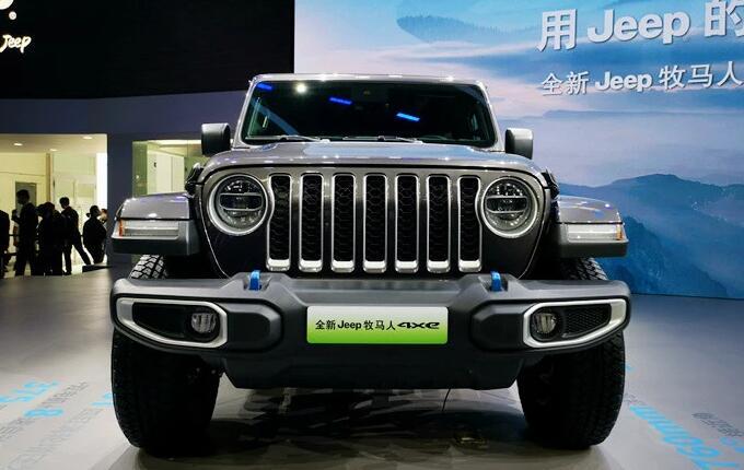广汽菲克电气化步伐加速全新Jeep牧马人4xe亮相