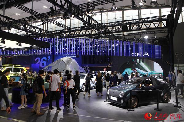 欧拉品牌携多款官方改装车型亮相