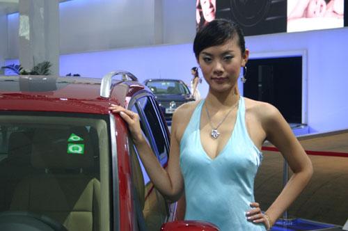 2006广州视频国际v视频美丽小学之一英语汽车四年级车模图片