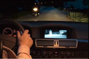 bmw夜视系统通过车灯控制旁边的开关启动和关闭
