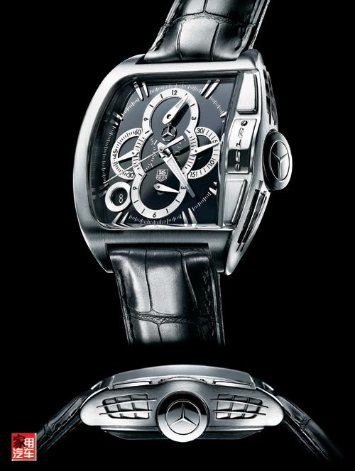 梅赛德斯-奔驰 钟情的腕表--人民网汽车 中国汽车社会