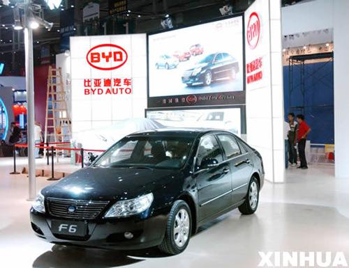比亚迪 铁电池 双模混合动力汽车预计明年上市 高清图片