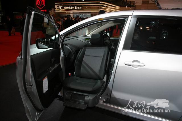 马自达Premacy(即之前在海南生产的普力马)的一款,副驾驶座位可高清图片