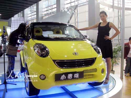 广州车展直击 双环红星小贵族高清图片
