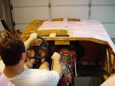纯手工木头打造超级豪华车