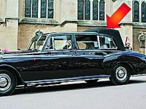 查尔斯将劳斯莱斯改成 脓包汽车高清图片