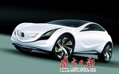 马自达发布全新概念车 风舞