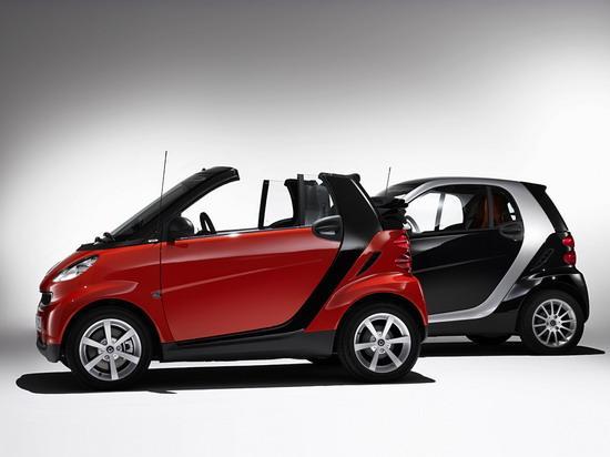 奔驰smart fortwo高清图片