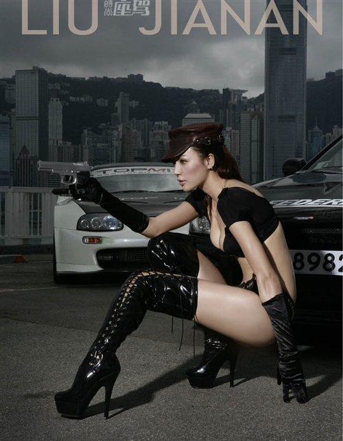 性感火辣!难以超越的顶尖美女车模写真 - 纳尔 - 纳尔博客