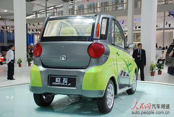 长城欧拉 gwkulla 两座纯电动新能源车高清图片