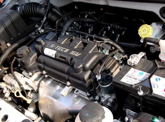 雪佛兰新赛欧动力组图 9 汽车高清图片